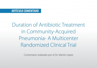 Duration of Antibiotic Treatment in Community-Acquired Pneumonia- A Multicenter Randomized Clinical Trial